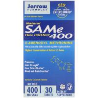 Jarrow Formulas, Природный SAM-e (S-Adenosyl-L-Methionine) 400