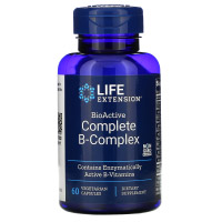 Life Extension, полный биоактивный комплекс витаминов группы B
