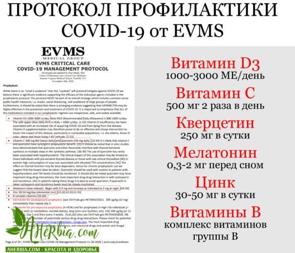 протокол ковид-19