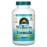 Source Naturals, Wellness Formula, ежедневная иммунная поддержка
