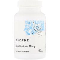 Thorne Research, Пиколинат цинка, 30 мг